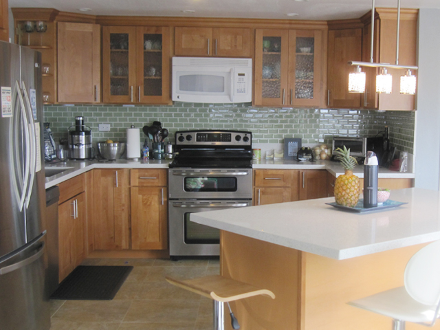 Honey Maple Is An Excellent Choice To Give A Contemporary Look When Stained  With Natural.Below Are Pictures Of Honey Maple Cabinets We Offer.